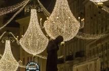 Stimmungsvolle Weihnachtsbeleuchtung in Wien