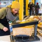 Raclette am Brunnenmarkt
