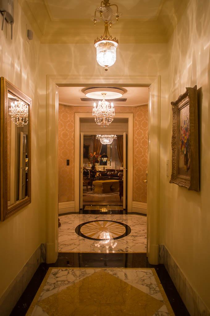 Wir betreten die Prince of Wales Suite