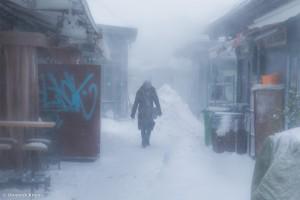 Dieses Bild könnte glatt auf einem Markt im tiefsten Russland aufgenommen worden sein.