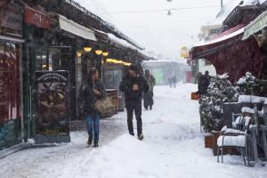 Manche Wiener schien das Wetter nicht wirklich zu stören