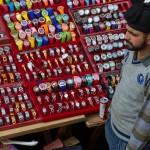 Die Uhren passen zwar nicht wirklich zum Marktangebot, aber was soll's