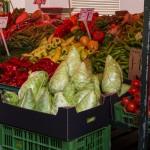 Gemüse  gibt's in allen Formen und Farben.