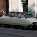 So ein Auto sieht man schon selten.