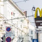 Leberkäse beim MacDonalds - man könnt's fast meinen.