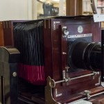 Eine alte Plattenkamera
