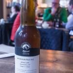 Dieses Bierchen kommt aus Kufstein und bildete den Abschluß unseres Besuches im Supersense.