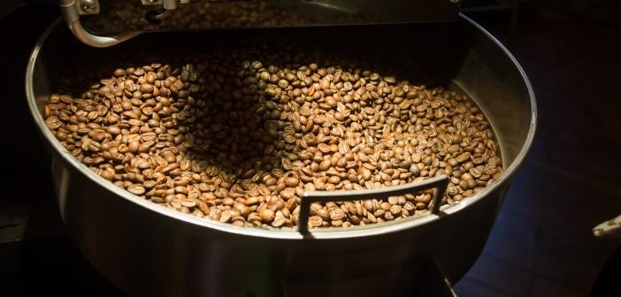 Herrlich duften die frisch gerösteten Kaffeebohnen