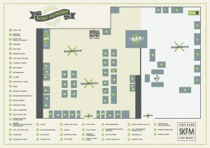 Street Kitchen - Food Market Wien - Plan