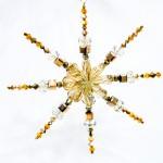 Swarovski Kristallwelten Kreativ Workshop Weihnachtssterne