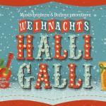 Weihnachts-HalliGalli am Donaukanal