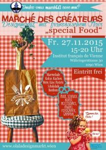 Designmarkt mit französischem Flair special Food