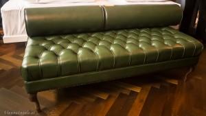 Diese süße Chaiselongue findet sich in den Zimmern der Standard+ Kategorie
