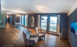 Ein Blick in die 100 m2 große Grande Suite