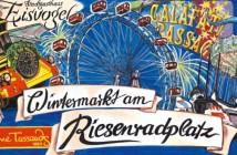 Prater Wintermarkt am Riesenradplatz