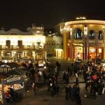 Wintermarkt am Riesenradplatz im Prater