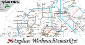 Netzplan Weihnachtsmärkte Wien