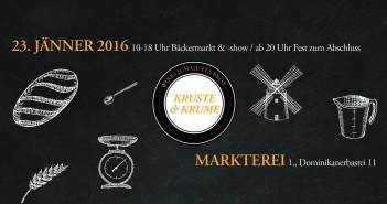 Bäcker-Event: Kruste & Krume 2016