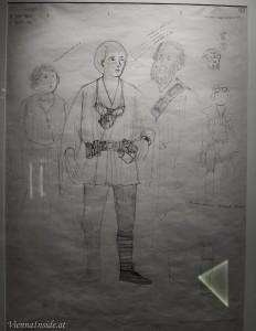 Hier wird Luke mit seinen Adoptiveltern dargestellt und hieß in diesem frühen Stadium noch Starkiller.