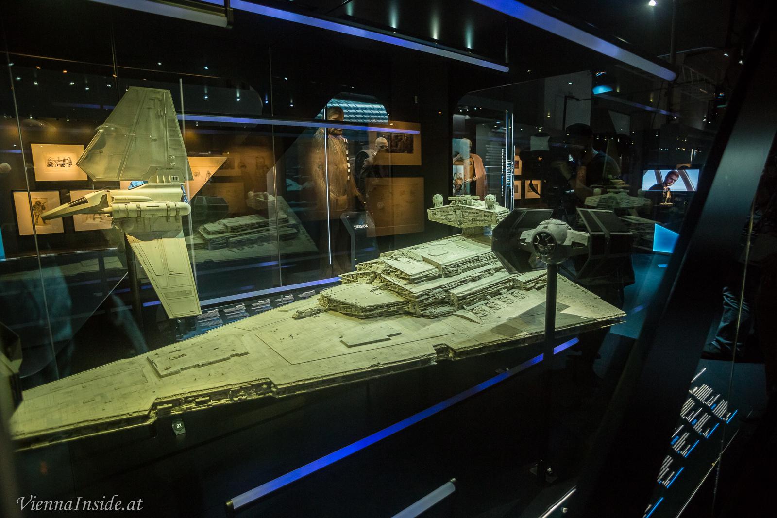 Starwars Ausstellung