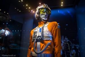 Luke Skywalker in seiner Flieger-Montur.