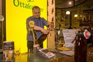 Auch frisch gezapftes Fassbier kann hier in der Siphonflasche mit nach Hause genommen werden.