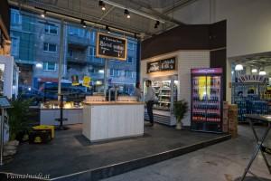 Die neue Craft Bier Koje im Ottakringer Shop mit mehr als 150 Craft Bier Sorten  zum Kosten und Kaufen.