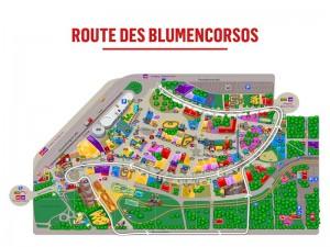 Route Blumencorso Prater 2016