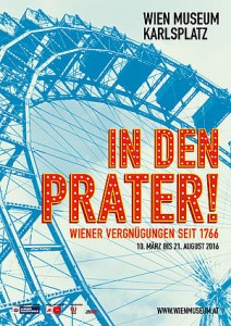Folder In den Prater im Wien Museum