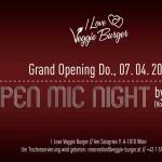 OPEN MIC NIGHT hosted by Mel Verez