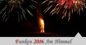 Funken 2016 Am Himmel