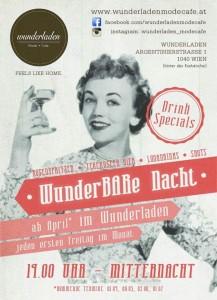Wunder-BAR-e Nacht im wunderladen
