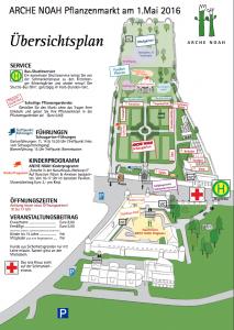 Arche Noah Lageplan Jungpflanzenfestival