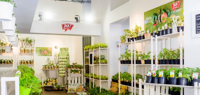 Ja Natuerlich Garten Pop Up Store Wien