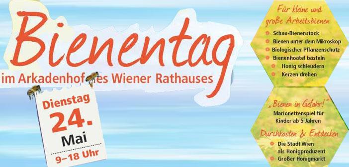 3. Wiener Bienentag im Arkadenhof Wiener Rathaus