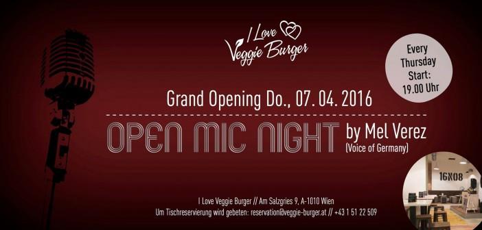 Open Mic Night @ I Love Veggie Burger