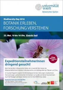 Biodiversity Day 2016 Flyer