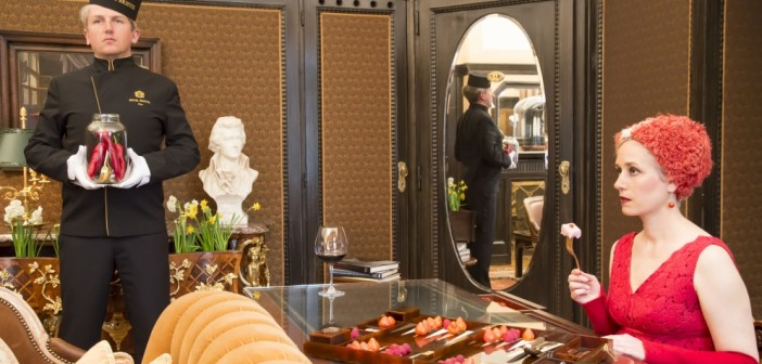 Design Installation Eat - Conservation - Art im Hotel Bristol Wien