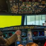 Der begehrte Blick ins Cockpit!
