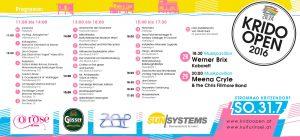 Krido Open Das Programm 2016