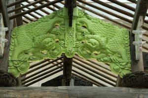 Das Ahnenhaus gehörte einst der Familie Wang, bedeutenden Teehändlern aus der südlichen Provinz Jiangxi. Während der Chinesischen Kulturrevolution wurde die Familie vertrieben, und die Ahnenhalle verfiel. Ai Weiwei kaufte das Gebäude von einem Investor und übertrug es in den Kunstkontext.