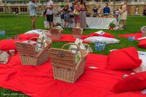 Was wäre ein Picknick ohne Picknickkorb.