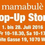 mamabulé pop up store