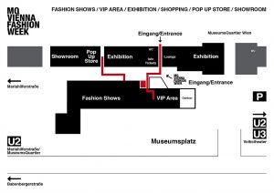 MQ Vienna Fashion Week.16 - Exhibition-Map