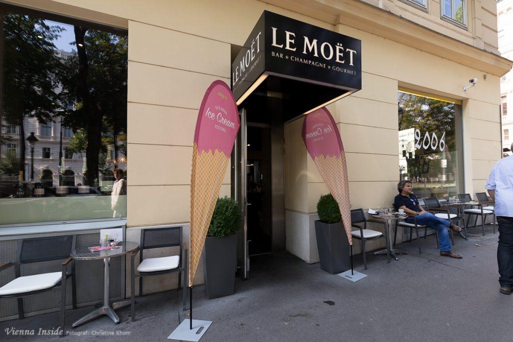 die Le Moët Champagner Bar
