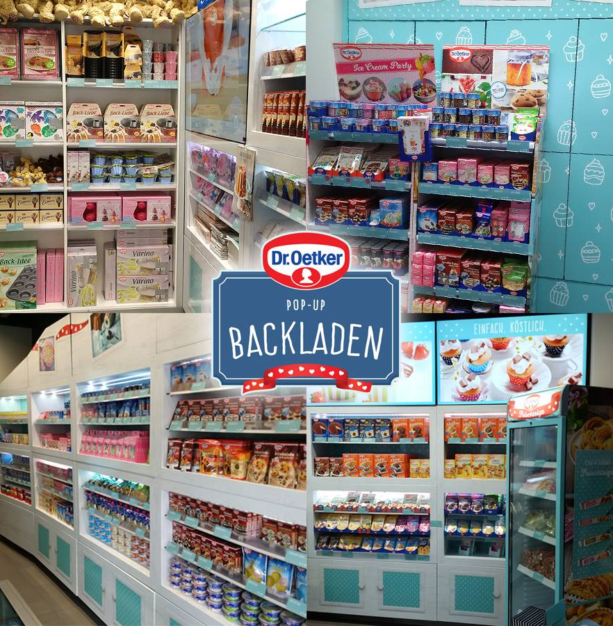 Dr. Oetker Pop Up Backladen