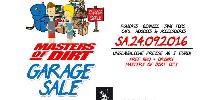 Masters of Dirt Garage Sale 2016