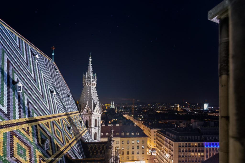 Ein Traumblick über Wien