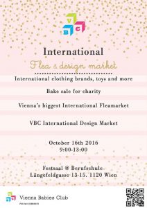 Vienna Babies Club International Flea and Design market