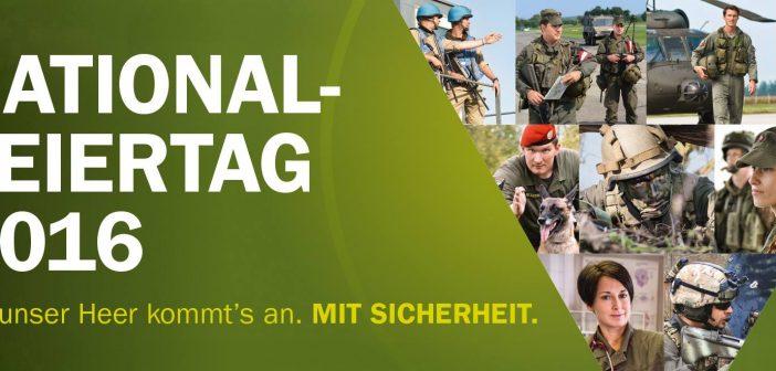 Nationalfeiertag Leistungsschau Bundesheer
